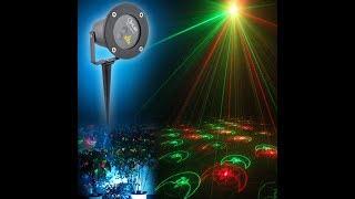 Уличный лазерный  проектор