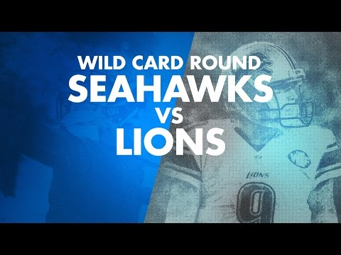Wild Card Round: Seahawks vs Lions Trailer