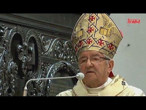 Homilia ks. abp. Sławoja Leszka Głódzia wygłoszona podczas Mszy św. Krzyżma