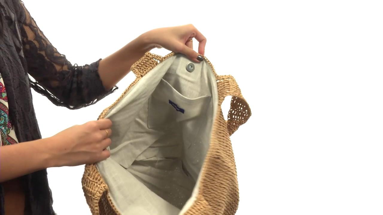 ecc597ef0ee Hat Attack - Straw Carryall SKU 8869858 - YouTube