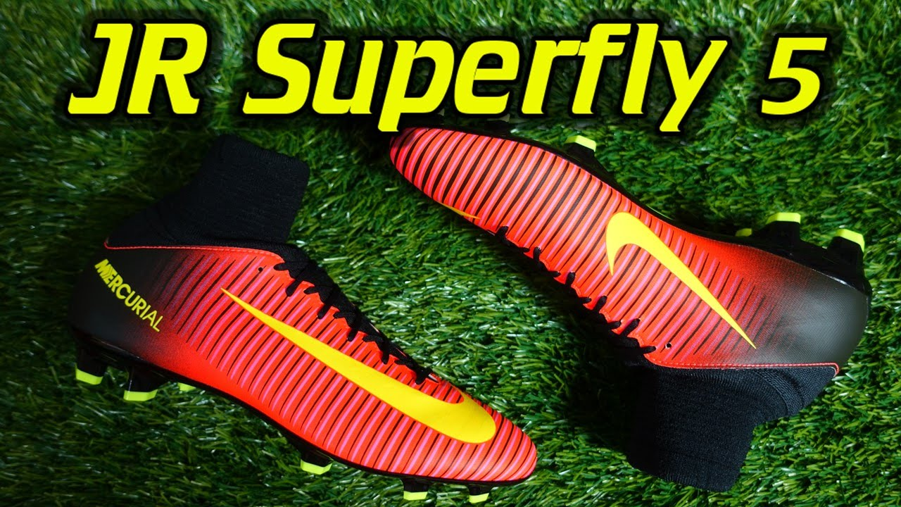 c2273f8a4 Youth Nike Mercurial Superfly 5 (Spark Brilliance Pack) - Review - YouTube