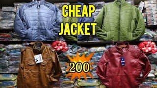 Cheapest Jacket Market Delhi/Wholesale rate at factory price/Gandhi Nagar