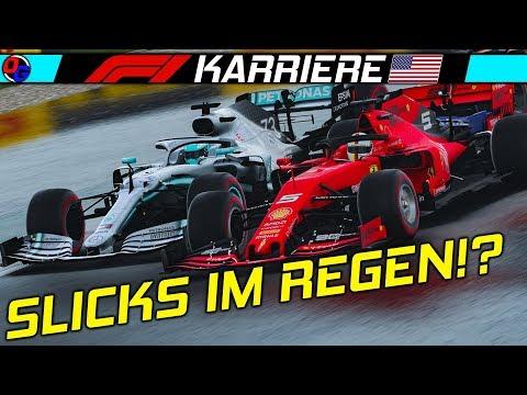 F1 2019 KARRIERE Saison 2 #19 – Slicks Im Regen! | Let's Play Formel 1 Deutsch Gameplay German