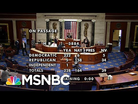 House Passes Bill To Decriminalize Marijuana   Katy Tur   MSNBC