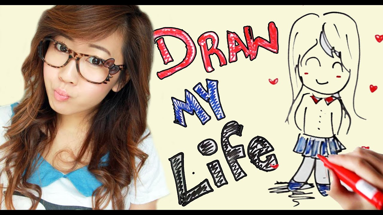 Draw My Life Bubzbeauty Youtube