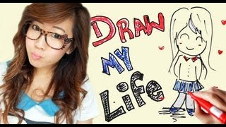 One of bubzbeauty's most viewed videos: Draw My Life | Bubzbeauty