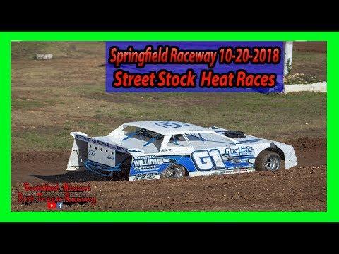 Street Stock - Heat Races - Lil Buck 31 - Springfield Raceway 10/20/2018