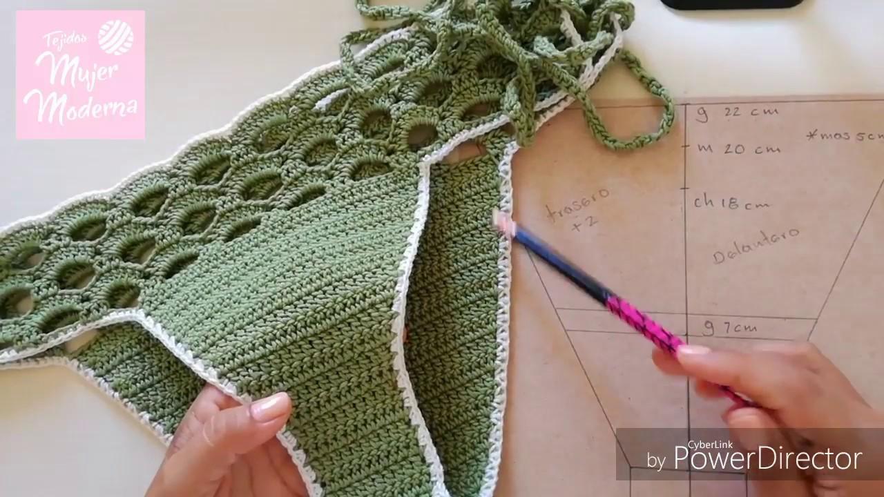 21df9938a COMO TEJER DIFERENTES TALLAS PARA UN CALZON DE BIKINI O TRAJE DE BAÑO a  Crochet