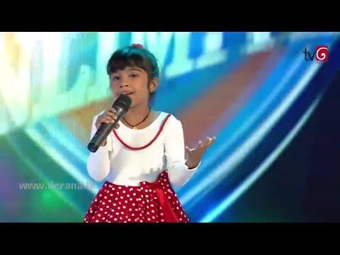 Aksha chamudi - Anna Sudo Ara Pata Wala - Derana Champion Stars Unlimited - 30 12 2018