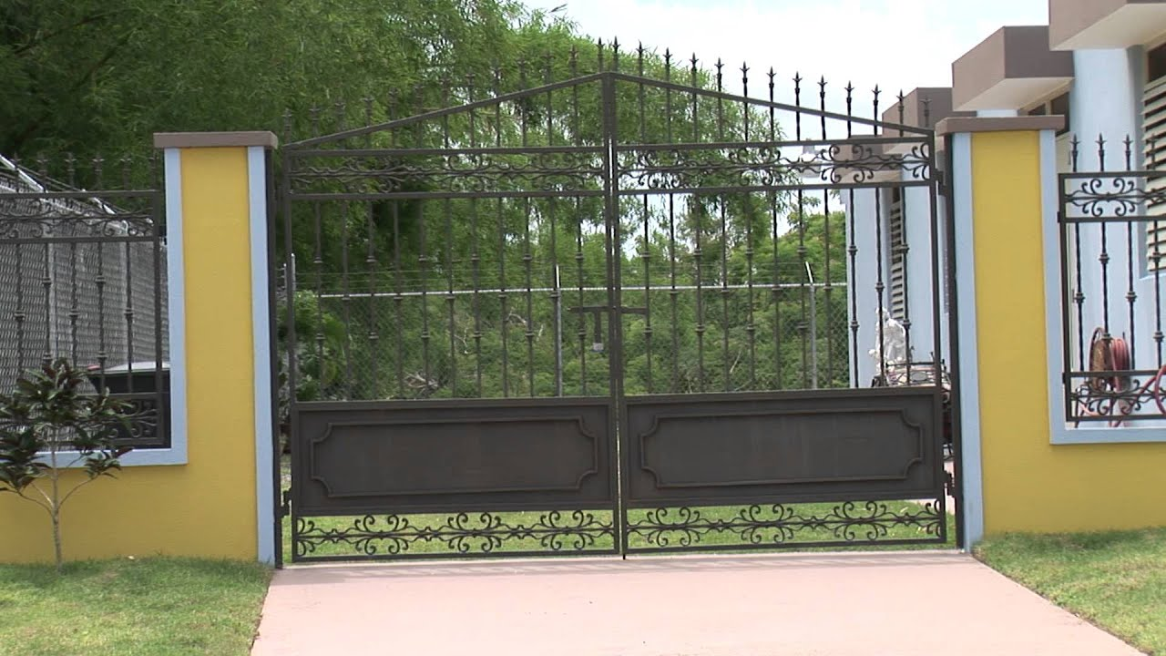 La casa de las puertas cristy portones youtube for Puertas de casa