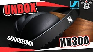 UNBOX Sennheiser HD300 Budget Headphones By Soundproofbros
