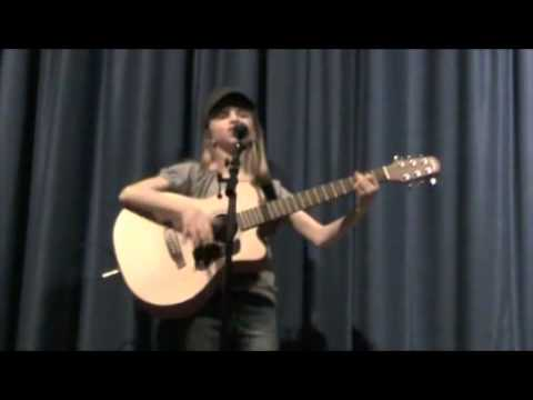 Sara Goodwin 11 years old sings Fifteen by Taylor Swift- Talent Show 2011