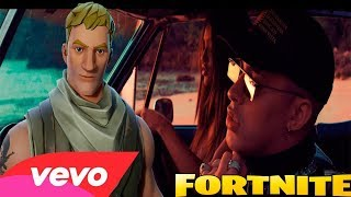 AMORFODA - BAD BUNNY | PARODIA FORTNITE (EL NOOB)