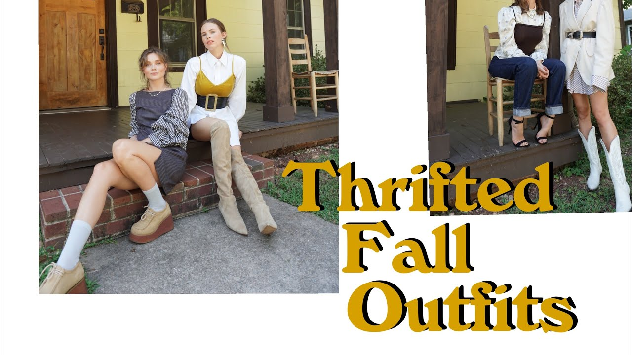 [VIDEO] - THRIFTING FALL OUTFITS 2