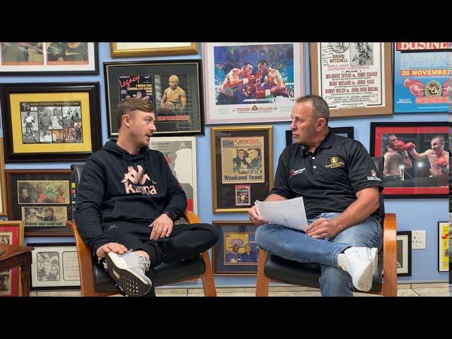 Damien Durandt Interview | Golden Gloves SA