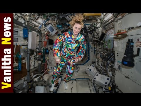 NASA Astronaut Wears Space Suit Hand-Painted by Cancer Patients || Vanitha News || Vanitha TV