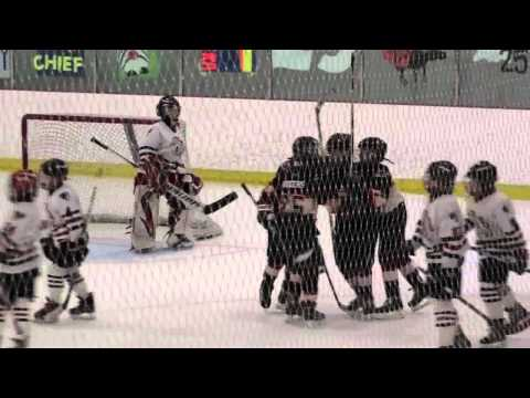 Muller to Rogers to Blair hockey goal