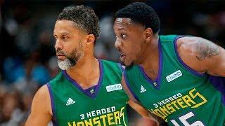 Power vs 3 Headed Monsters Full Game Highlights | Week 9 | Season 3, BIG3 Basketball
