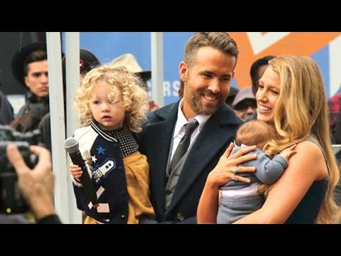 Ryan Reynolds And Blake Lively Glowing At His Star Ceremony