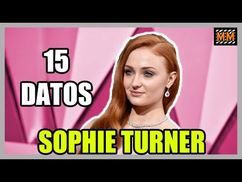 "15 Curiosidades sobre ""SOPHIE TURNER"" - (Game of Thrones) - (X-Men) - 