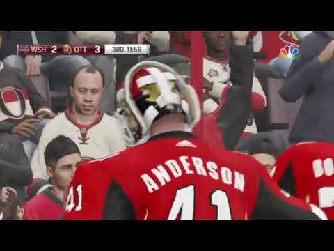 NHL 19 - Washington Capitals Vs Ottawa Senators Gameplay - NHL Season Match Dec 22, 2018
