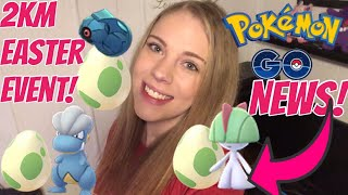 SPECIAL 2KM EGG EASTER EVENT IN POKEMON GO! NEW EVENT COMING TOMORROW!