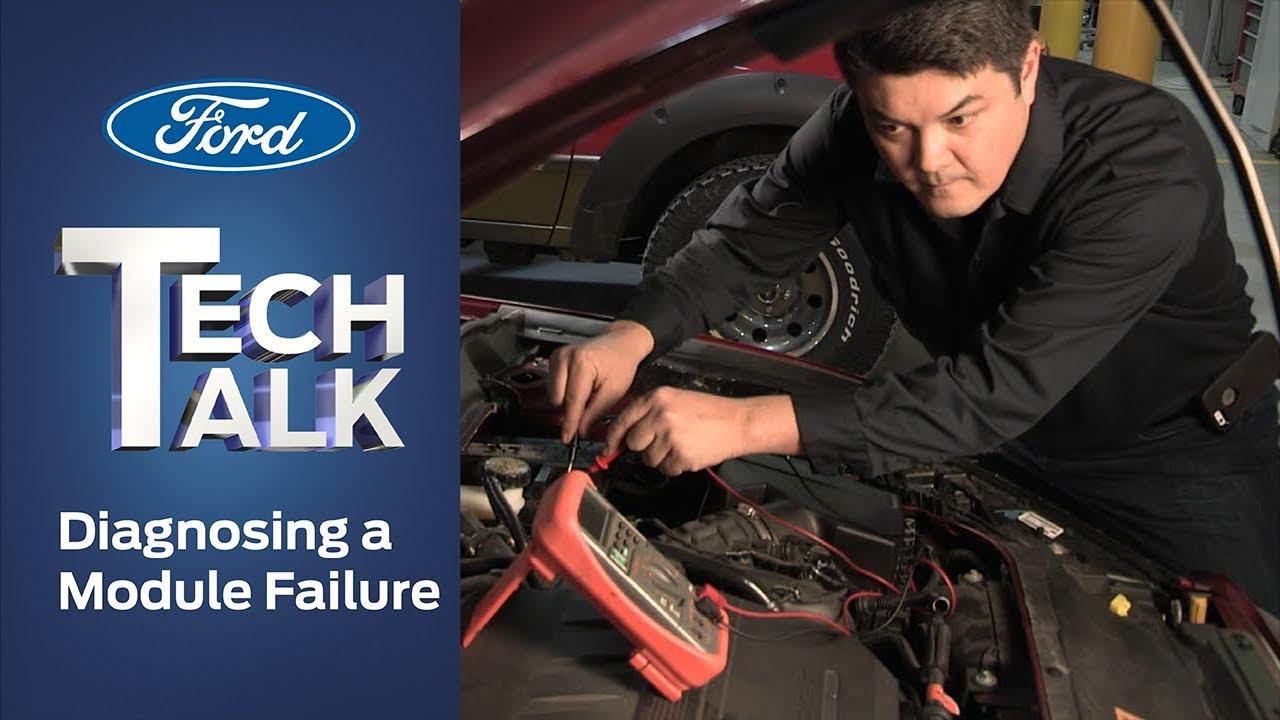 how to diagnose a module failure ford tech talk [ 1280 x 720 Pixel ]