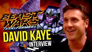 Beast Wars Interview with David Kaye [Megatron]