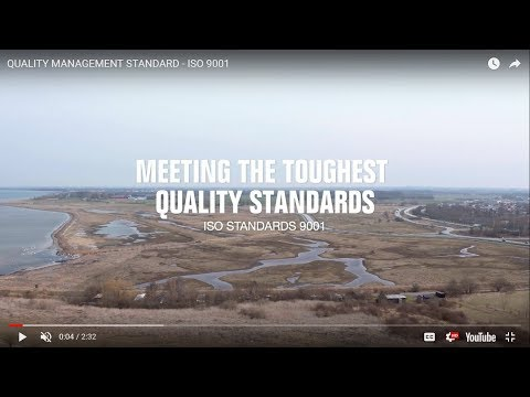 QUALITY MANAGEMENT STANDARD - ISO 9001