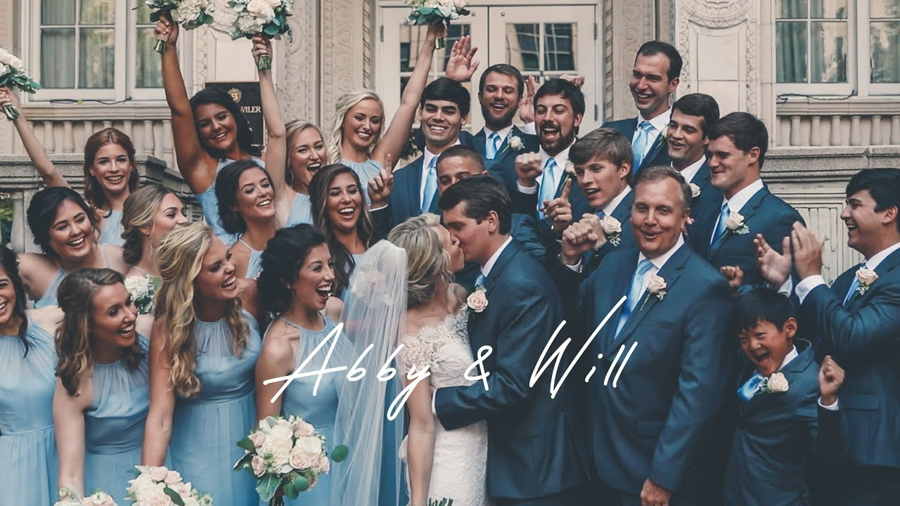 Abby and Will // Summer Wedding in Birmingham