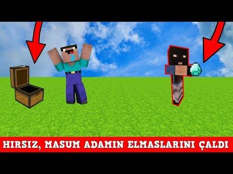 HIRSIZ VS POLİS #66 - Hırsız Bir Sürü Elmas Çaldı (Minecraft)