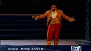 Teatro Verdi di Salerno al TG1. Il Barbiere di Siviglia