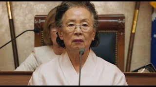 慰安妇题材电影《我能说》,奶奶掀起衣服的那一刻,全场记者都沉默了