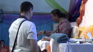 Om Aim Saraswati Namaha - Darshan with Sri Swami Vishwananda