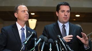 Nunes, Schiff split over Trump surveillance