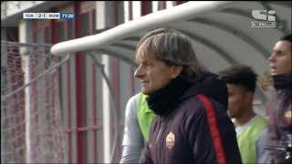 PRIMAVERA 1: Torino - Roma 3-1