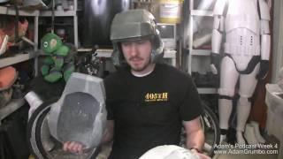 Adam Podcast 4 - Making a Marine Helmet