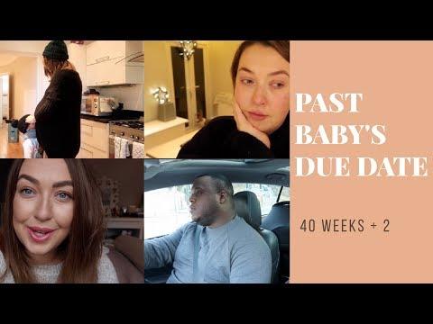 PAST BABY'S DUE DATE | TODDLER SIBLING WORRIES? | 40+2 WEEKS PREGNANT