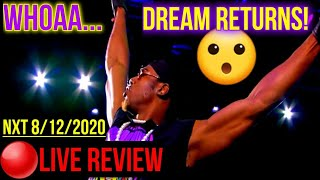 🔴LIVE NXT REVIEW: The DREAM RETURNS, Keith Lee Gets ROCKED By Kross & Some HUGE UPSETS! Live NXT USA