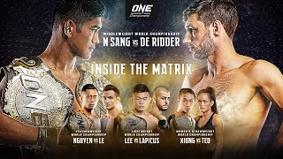 🔴 [Live in HD] ONE Championship: INSIDE THE MATRIX