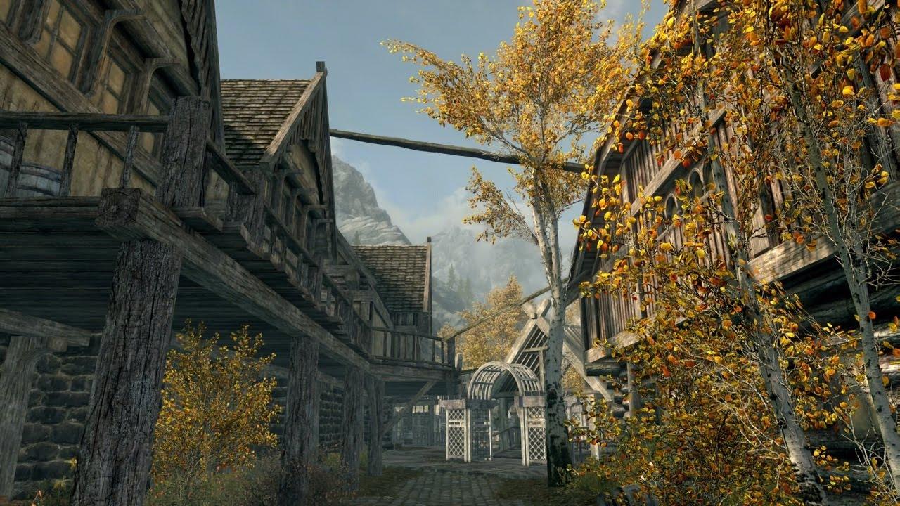 Skyrim PS4 Mods: Riften Supreme, PS4 Dragons, & Dense Grass