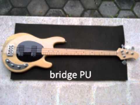 custom bass stingray model w emg ssd demo youtube. Black Bedroom Furniture Sets. Home Design Ideas
