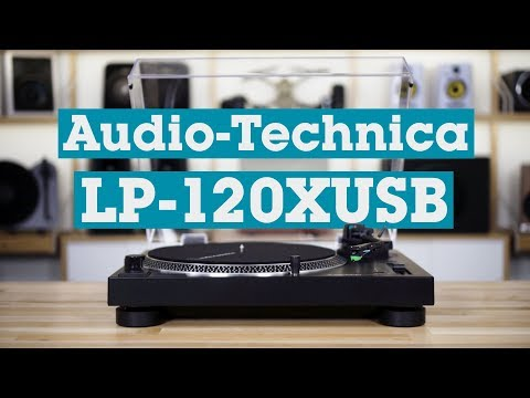 Audio-Technica LP-120XUSB Direct-drive Turntable With USB Output | Crutchfield Video