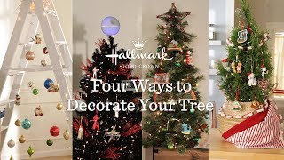 Four Ways to Decorate Your Tree