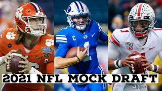 2021 NFL Mock Draft! Round 1!