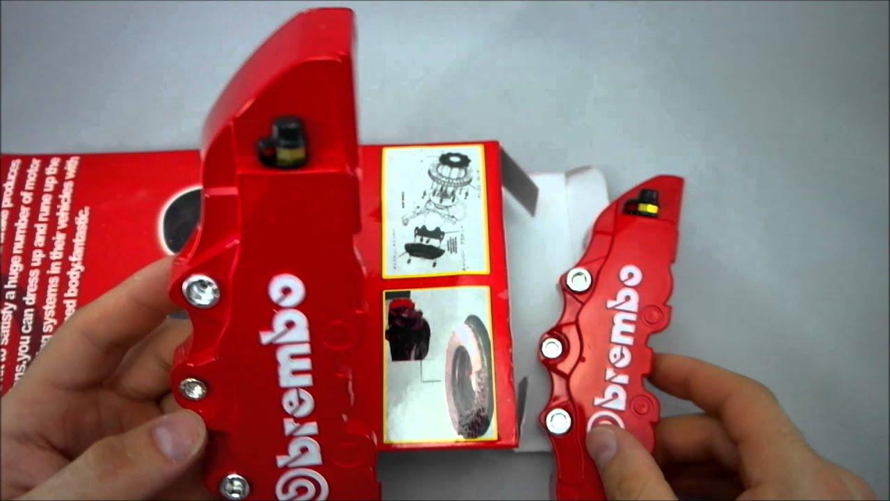 Cubre Pinzas Brembo Color Rojo Youtube