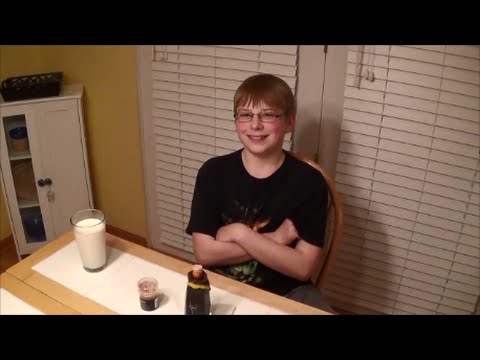 11-yr-old eats Blair's 3AM Reserve (2 million Scoville!!) : Hot Sauce Review, Crude Brothers