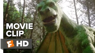 Pete's Dragon Movie CLIP - Elliot Takes Pete for a Ride (2016) - Oakes Fegley Movie