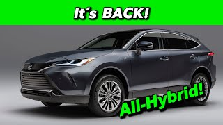 2021 Toyota Venza First Look