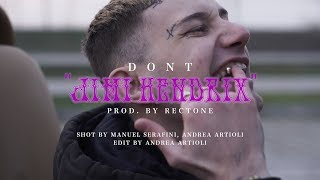 DONT - Jimi Hendrix (Prod. Rectone) OFFICIAL VIDEO